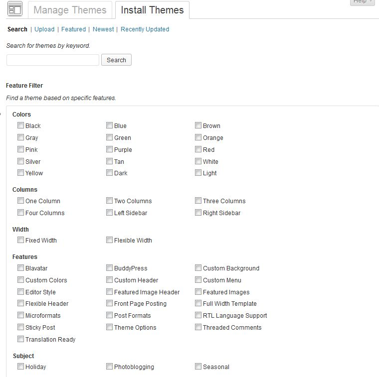 install theme tutorial