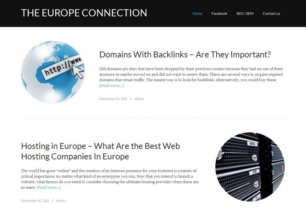 theeuropeconnection.org theme